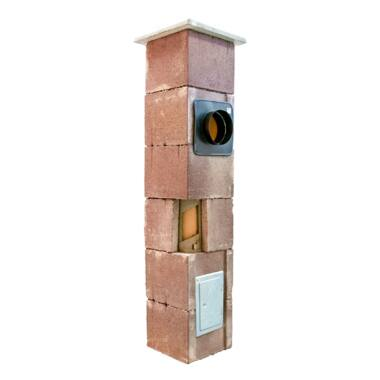 Sistem cos de fum din samota modular THERMEX 9 ml