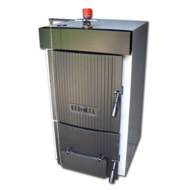 Cazan pe lemn din fonta Dunatech Plus, 27 kW, 5 elementi